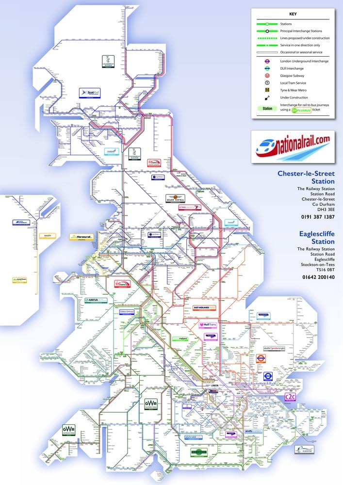 National Rail Uk Map.Out About Oysters National Rail And A Map For Christmas